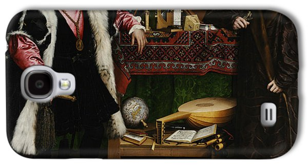 The Ambassadors Galaxy S4 Case by Hans Holbein the Younger
