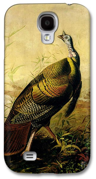 The American Wild Turkey Cock Galaxy S4 Case by John James Audubon