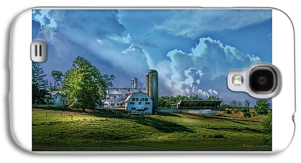 The Amish Farm Galaxy S4 Case by Marvin Spates