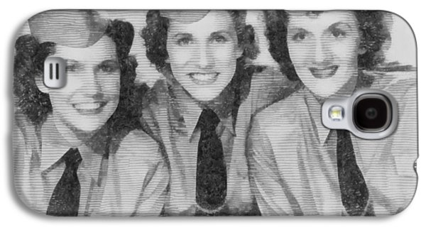 The Andrews Sisters Galaxy S4 Case by John Springfield