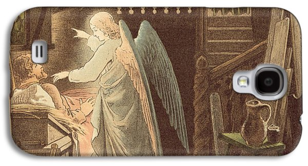 The Angel Appearing To Joseph Galaxy S4 Case by Victor Paul Mohn