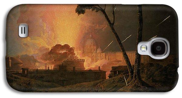 The Annual Girandola At The Castel Sant'angelo, Rome Galaxy S4 Case