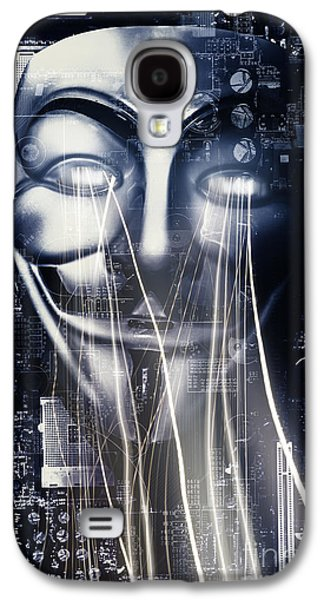 The Anonymous Eyes Of Civil Unrest Galaxy S4 Case by Jorgo Photography - Wall Art Gallery