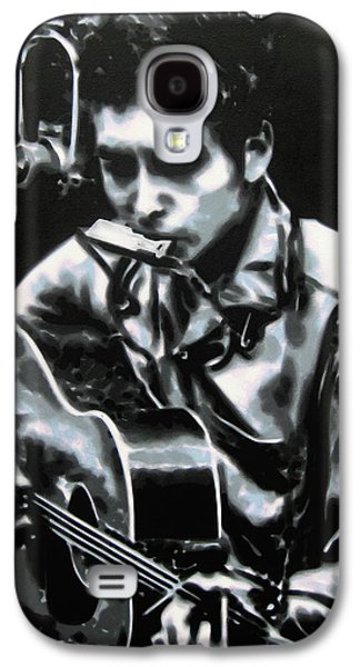 Nashville Paintings Galaxy S4 Cases - The answer my friend is blowin in the wind Galaxy S4 Case by Luis Ludzska
