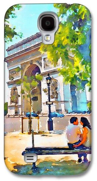 The Arc De Triomphe Paris Galaxy S4 Case
