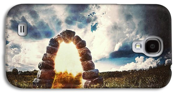 The Arch On The Edge Of Forever Galaxy S4 Case by Scott Norris