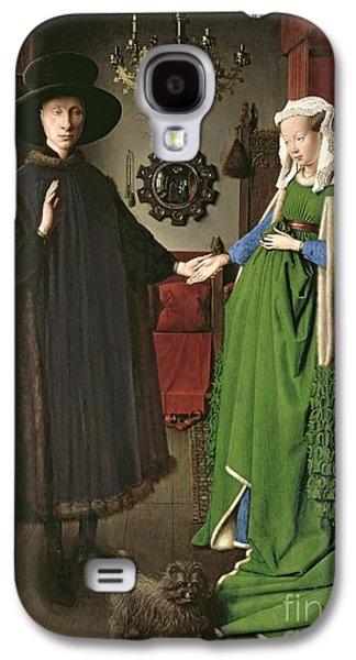 The Arnolfini Marriage Galaxy S4 Case by Jan van Eyck