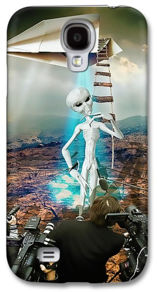 The Arrival Galaxy S4 Case by Marian Voicu