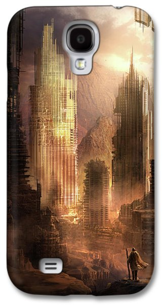 The Arrival Galaxy S4 Case by Philip Straub