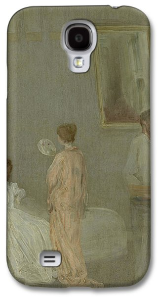 The Artist In His Studio Galaxy S4 Case by James Abbott McNeill Whistler