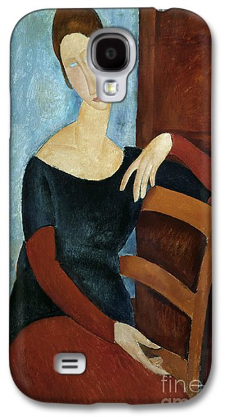The Artist's Wife Galaxy S4 Case by Amedeo Modigliani