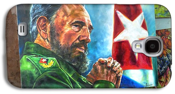 The Arts In Cuba Fidel Castro 2 Galaxy S4 Case