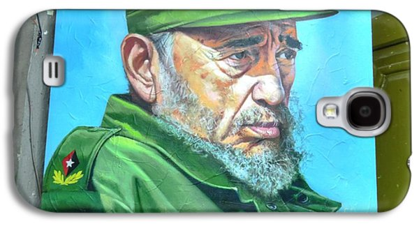 The Arts In Cuba Fidel Castro Galaxy S4 Case by Wayne Moran