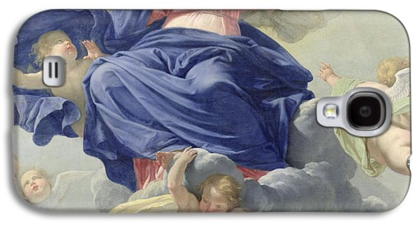 The Assumption Of The Virgin Galaxy S4 Case by Philippe de Champaigne