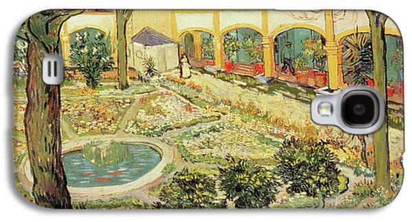The Asylum Garden At Arles Galaxy S4 Case by Vincent van Gogh