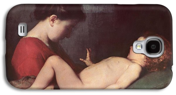 The Awakening Child Galaxy S4 Case by Jean Jacques Henner