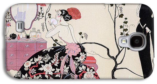 The Backless Dress Galaxy S4 Case by Georges Barbier