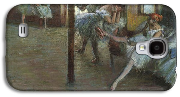 The Ballet Rehearsal, 1891 Galaxy S4 Case by Edgar Degas
