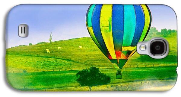 The Balloon In The Farm - Pa Galaxy S4 Case by Leonardo Digenio