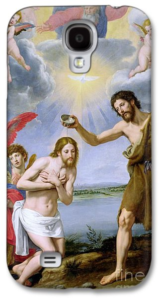 The Baptism Of Christ Galaxy S4 Case by Ottavio Vannini