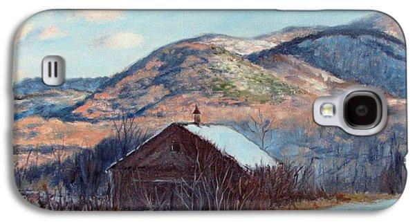 The Barn In Winter Galaxy S4 Case