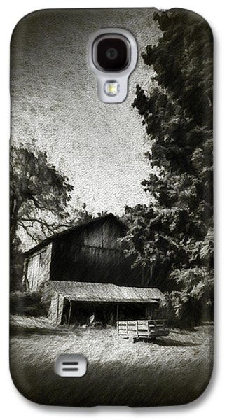The Barn Yard Wagon Galaxy S4 Case by Marvin Spates