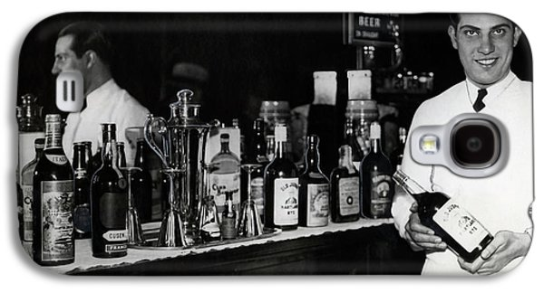 The Bartender Is Back - Prohibition Ends Dec 1933 Galaxy S4 Case by Daniel Hagerman
