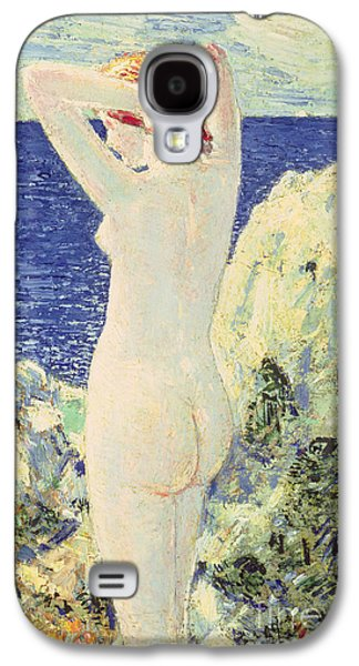 The Bather Galaxy S4 Case by Childe Hassam