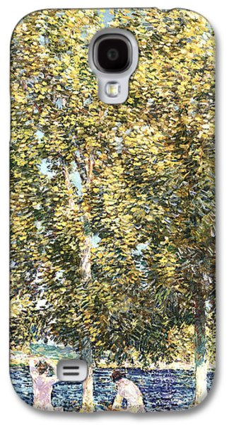 The Bathers Galaxy S4 Case by Childe Hassam
