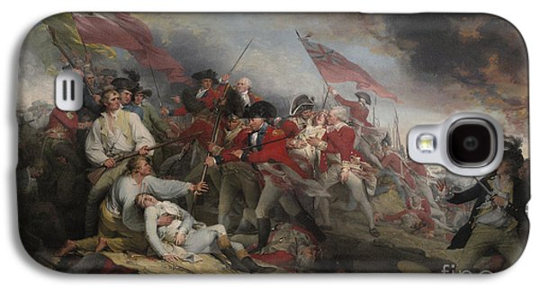The Battle Of Bunker's Hill On June 17th 1775 Galaxy S4 Case