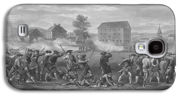 The Battle Of Lexington Galaxy S4 Case by War Is Hell Store