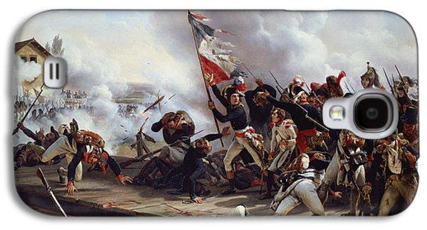 The Battle Of Pont D'arcole Galaxy S4 Case by Emile Jean Horace Vernet