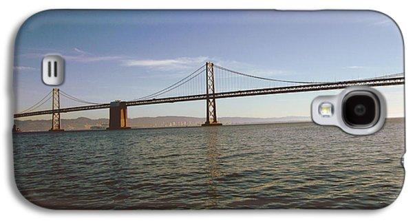 The Bay Bridge- By Linda Woods Galaxy S4 Case by Linda Woods