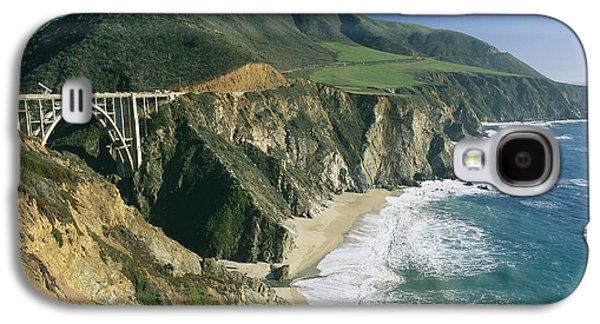 The Beach And Shoreline Along Highway 1 Galaxy S4 Case