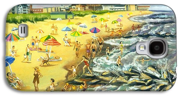 The Beach At Ocean Grove Galaxy S4 Case by Madeline  Lovallo
