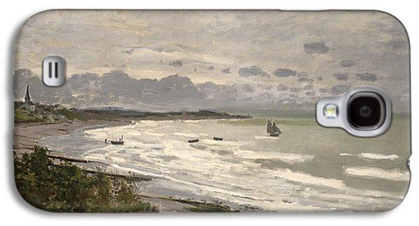 The Beach At Sainte Adresse Galaxy S4 Case