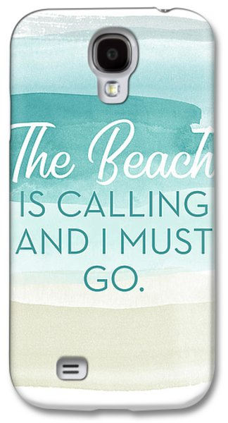 The Beach Is Calling- Art By Linda Woods Galaxy S4 Case