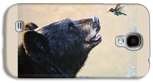 The Bear And The Hummingbird Galaxy S4 Case