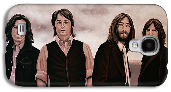 Rock And Roll Galaxy S4 Case - The Beatles 3 by Paul Meijering