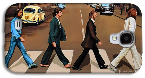 The Beatles Abbey Road Galaxy S4 Case by Paul Meijering