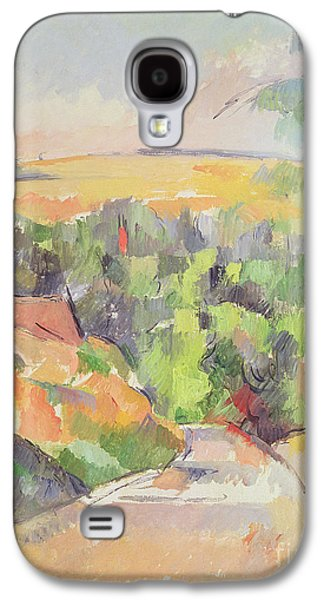 The Bend In The Road Galaxy S4 Case by Paul Cezanne