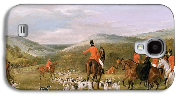 Rural Scenes Galaxy S4 Case - The Berkeley Hunt by Francis Calcraft Turner