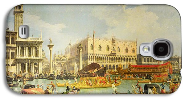 The Betrothal Of The Venetian Doge To The Adriatic Sea Galaxy S4 Case by Canaletto