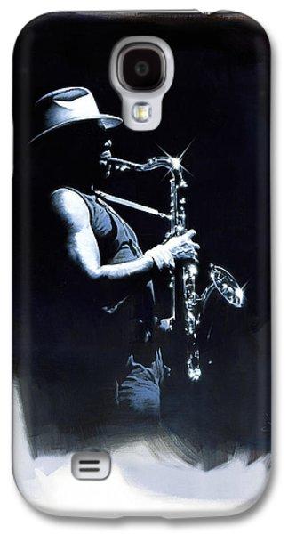 The Big Man Galaxy S4 Case by David Farren
