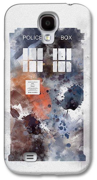 The Blue Box Galaxy S4 Case by Rebecca Jenkins