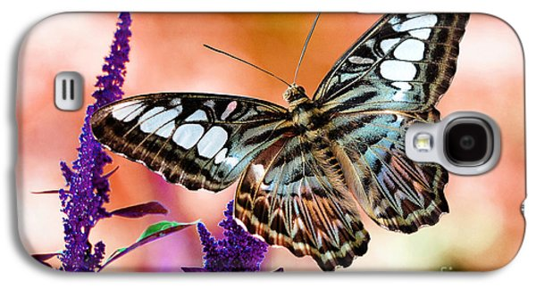 Photo Manipulation Galaxy S4 Cases - The Blue Clipper Galaxy S4 Case by Lois Bryan