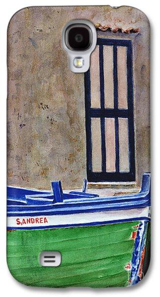 The Boat Galaxy S4 Case by Karen Fleschler