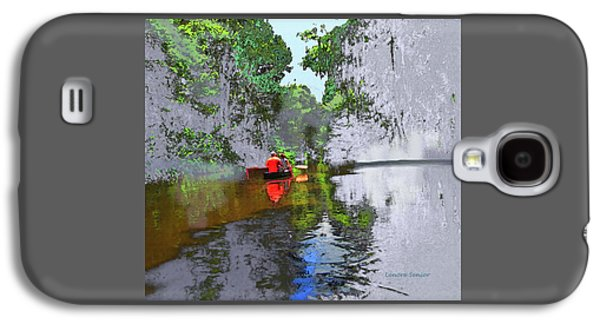 Waterscape Galaxy S4 Case - The Boaters by Lenore Senior