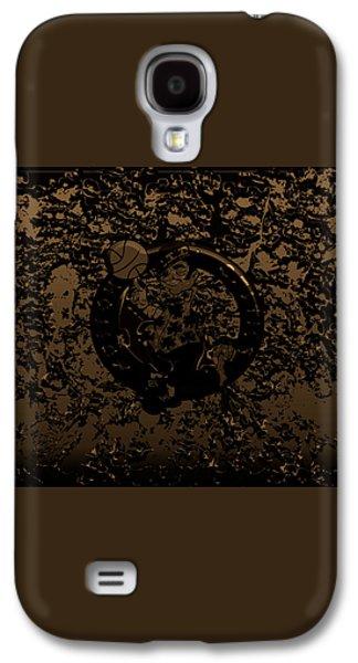 The Boston Celtics 1f Galaxy S4 Case by Brian Reaves