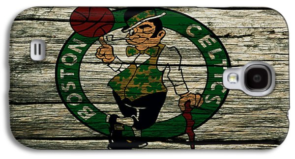 The Boston Celtics 2w Galaxy S4 Case by Brian Reaves